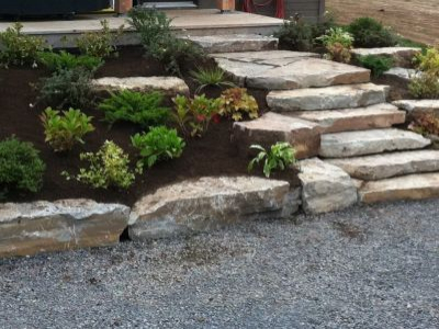 Buckhorn Natural Stone Steps